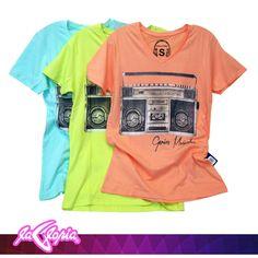 #Prendas de #Color para darle vida a tu espíritu libre #Camisetas #Caballeros #Juvenil 1er.Piso