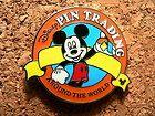 2007 Hidden Mickey Series Disney Pin - Orange Pin Trading Around the World Logo #EasyNip