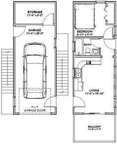 12x32 Tiny House -- #12X32H6G -- 461 sq ft - Excellent Floor Plans