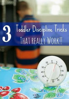 They really work! And you don't have to spank! http://thestir.cafemom.com/toddler/164599/3_toddler_discipline_tricks_that?utm_medium=sm&utm_source=pinterest&utm_content=thestir