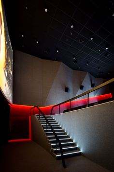 Multiplex Atmocphere cinema by Sergey Makhno on Interior Design Served Cinema Theatre, Theatre Design, Movie Theater, Theater Rooms, Theater Architecture, Light Architecture, Architecture Design, Auditorium Design, Building Design