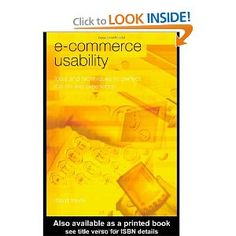 E-Commerce Usability: Tools and Techniques to Perfect the On-Line Experience