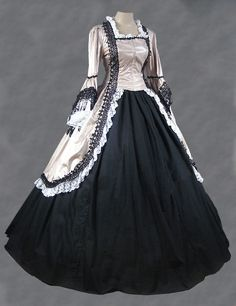 Ladies-Victorian-Edwardian-Day-Costume.jpg (510×663)