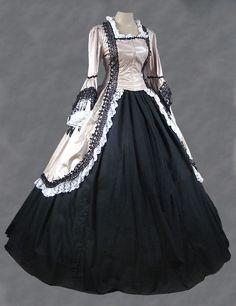 Ladies-Victorian-Edwardian-Day-Costume.jpg (510×663)