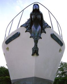 mermaids on the bow of ships where did this tradition stem from. Is it goodluck or for protection?