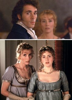 Sense and Sensibility Starring: Greg Wise as John Willoughby, Emma Thompson as Elinor Dashwood and Kate Winslet as Marianne Dashwood. Period Movies, Period Dramas, Greg Wise, Jane Austen Movies, Favorite Movie Quotes, Emma Thompson, Mary Elizabeth Winstead, Film Inspiration, People Of Interest