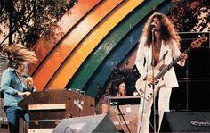 Glenn Hughes (the voice of Rock) and Jon Lord - Deep Purple @ California Jam 1974