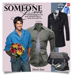 """""""Everything He Needs for His Blind Date is Available Through The Workshop!"""" by wackyworkshop ❤ liked on Polyvore featuring men's fashion, menswear and blinddate"""