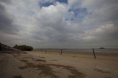 playa Malvin  & la Isla de las Gaviotas