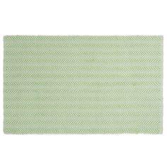 Tappeto verde in cotone 60 x 90 cm LETICIA | Maisons du Monde