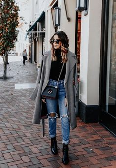 Cute Casual Winter Fashion Outfits For Teen Girl - Wass Sell - Winter Outfits for Work Cold Outfits, Europe Outfits, New York Outfits, Paris Outfits, Cold Weather Outfits, Winter Outfits For Work, Casual Winter Outfits, Outfits For Teens, Office Outfits