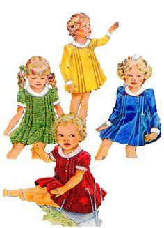 Cinderella Dress Little Girl Dress by FindCraftyPatterns on Etsy, $10.00