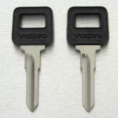 VOLVO 240 740 760 780 940 960 VL8-P GL DL X80 VL6 GLE 008 uncut blank key