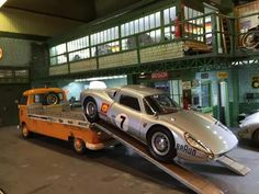 Stretched VW single cab pickup with a Porsche 904
