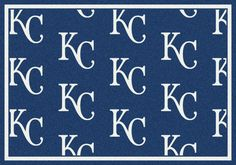 MLB Team Repeat Kansas City Royals Baseball Novelty Rug