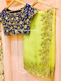 Trendy designer sarees by Issa studio   Fashionworldhub