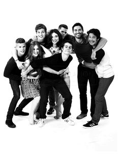 I love this cast more than my family
