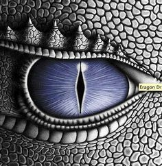 Dragon eye. Creature. Looked like eye with zipper at first, another interesting concept