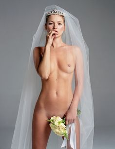 Nearly Naked Moments from the W Archives  - Kate Moss-Wmag