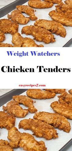 Chicken‬ ‪Tenders‬ // #WeightWatchers #weight_watchers #Healthy #Skinny_food #recipes #smartpoints #letseat #eating #happy #nice #chiken #tenders