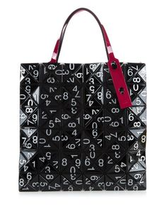 Bao Bao Issey Miyake Number-print Lucent tote