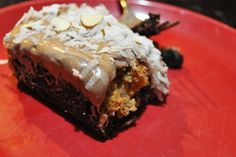 Amish Friendship Bread Coconut Amaretto Brownies by Kitchen Friend Jennifer from Life As I See It Friendship Bread Recipe, Friendship Bread Starter, Amish Friendship Bread, Amish Bread Recipes, German Recipes, Pennsylvania Dutch Recipes, Delicious Desserts, Dessert Recipes, Bread Kitchen