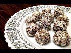 1 recette de dessert: Boules aux Dattes et à la Noix de Coco