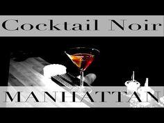 The Assignment: Manhattan - Cocktail Noir Cocktail Recipes, Cocktails, Drinks, Manhattan Cocktail, Martini, Tableware, Glass, Food, Craft Cocktails