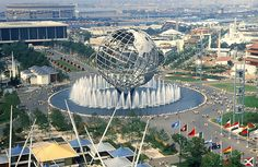 The 1964 World's Fair in Queens...