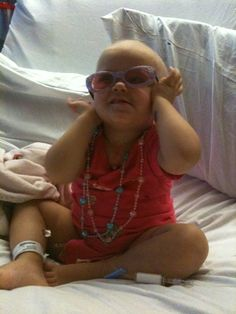 Leukemia patient,,,,,she's still beautiful!!!!