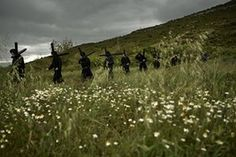 Devotees walk during the march of the Romeros de Lumbier in Spain Refugee Crisis, Amazing Photography, Spain, Around The Worlds, March, Outdoor, Photographs, Outdoors, Sevilla Spain