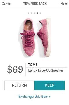 TOMS Lenox Lace Up Sneaker from Stitch Fix. https://www.stitchfix.com/referral/4292370