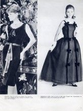 Christian Dior - Yves Saint-Laurent  Septembre 1959, Chanel, Evening Gown