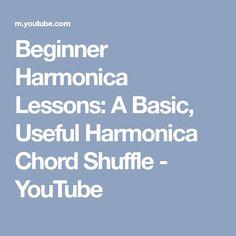 Beginner Harmonica Lessons: A Basic, Useful Harmonica Chord Shuffle - YouTube