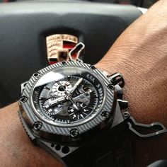 Audemars Piguet Survivor with the wings spread.