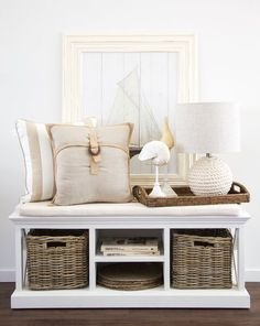 Coastal Inspired homewares from Hamptons Style.