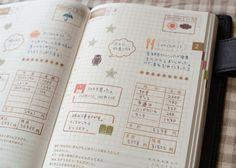 画像 Study Journal, Journal Diary, Journal Notebook, Journal Pages, Travel Sketchbook, Hobonichi Techo, Bullet Journal, Life Planner, Creations