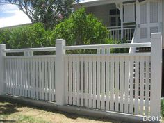 Picket Fences, Brisbane | White Pickets