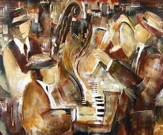 Contemporary Jazz Art Prints - Bing images
