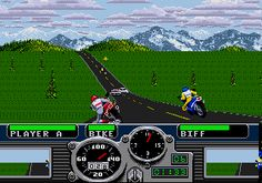 Road Rash - Sega Mega Drive - another fav of mine.