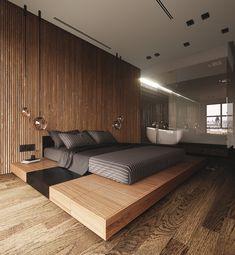 8 Wondrous Useful Ideas: Minimalist Home Tips Families minimalist bedroom art star wars.Minimalist Home Tips Families minimalist bedroom design doors. Modern Bedroom Design, Bed Design, House Design, Loft Design, Bedroom Designs, Minimalist Bedroom, Minimalist Decor, Minimalist Interior, Modern Minimalist