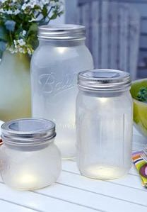 DIY solar powered lanterns in mason jars from This Old House Magazine