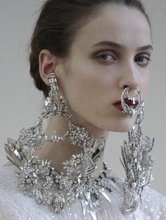 Adorned @ Givenchy Haute Couture Spring 2012   lamorbidezza
