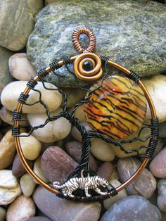 Tree of Life - Tiger Moon. Fantastic combination of elements beautifully executed.