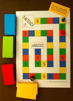 Abbiamo voluto raccogliere nel titolo, un sunto di questo post… infatti la parola predominante è il verbo giocare, coniugato al presente, e legato ad un altro verbo importantissimo: imparare!…