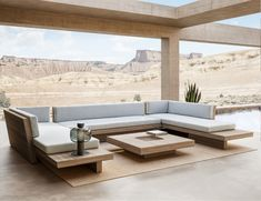 Outdoor Couch, Outdoor Seating, Outdoor Living, Outdoor Decor, Backyard Furniture, Outdoor Furniture, Wooden Sofa Designs, Living Room Sofa Design, House Plants Decor