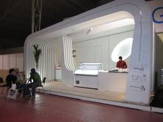 BRANTINOX BOOTH by Paulo Martins, via Behance