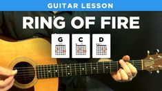 Ring of Fire • Johnny Cash guitar lesson w/ tabs (easy) - YouTube