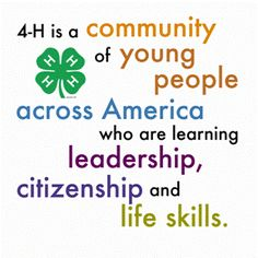 4-H Proud | 4-H | Pinterest | Memories, The o'jays and I am