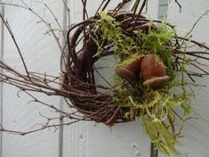 Acorn Wreath Small Wreath Birch Wreath Twig Wreath Natural Wreath Fall Wreath Candle Ring Hostess Gift Home Decor Wall Decor Acorn Wreath, Twig Wreath, Boxwood Wreath, Small Wreath, Moss Wreath, Thanksgiving Wreaths, Autumn Wreaths, Holiday Wreaths, Wreath Fall